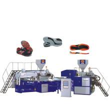 Machine de fabrication de semelle en PVC 2 couleurs avec prix pas cher