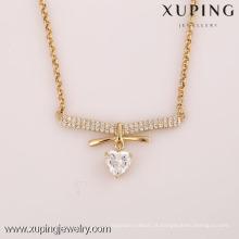 41801-Xuping Fashion de Alta Qualidade e Novo Design de Colar