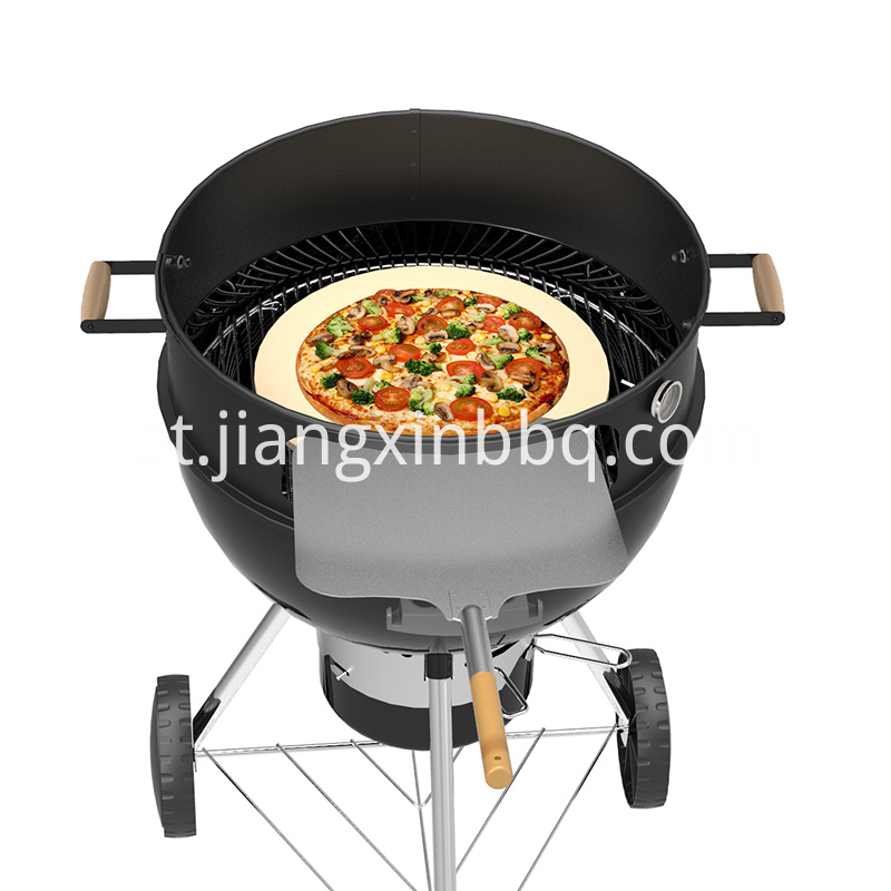 Kettle Pizza Ring Set For Bbq