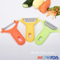 Kitchen Mini Plastic Multifunktionskartoffel Manioka Peeler