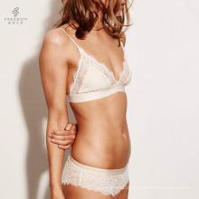 Ladies Girls Frauen www com Sex Foto in Encaje sexy Bralette BH und Slip