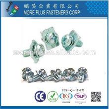 Fabriqué à Taiwan Vis à tête spéciale vis M3x12 vis sans vis à zinc