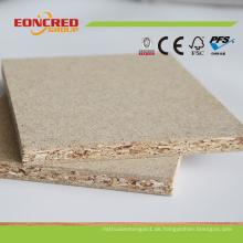 Heißes verkaufendes weißes Melamin-Spanplatten-Rohstoff-Spanplatten