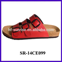 New arrival-Ladies confortable three buckles slippers lady wholesale slippers lady slippers