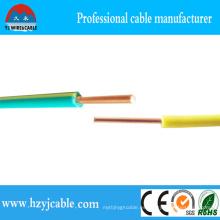 Alambre del cable del AWG eléctrico hecho en China