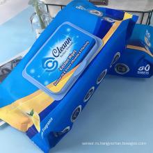 Влажные салфетки для очистки кухонных масел и грязи