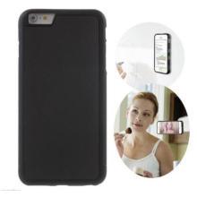 Caso auto-adesivo, anti-gravidade nano-tecnologia de sucção selfie caso à prova de choque selfie para apple iphone 7/6 / 6s