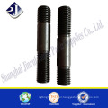 hardware supplier A193 B7 black oxide stud bolt with nut