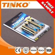 com boa qualidade e preço do competidor 1.5 v aa lr6 tamanho pilhas alcalinas/secas