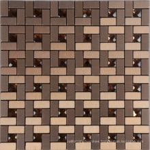 2015 New Fashion Interior back stick aluminium mosaic