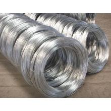ISO9001 TUV Certifacation Alambre de hierro galvanizado para el alambre de encuadernación