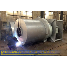 Ammonium sulfate coal fired hot heater