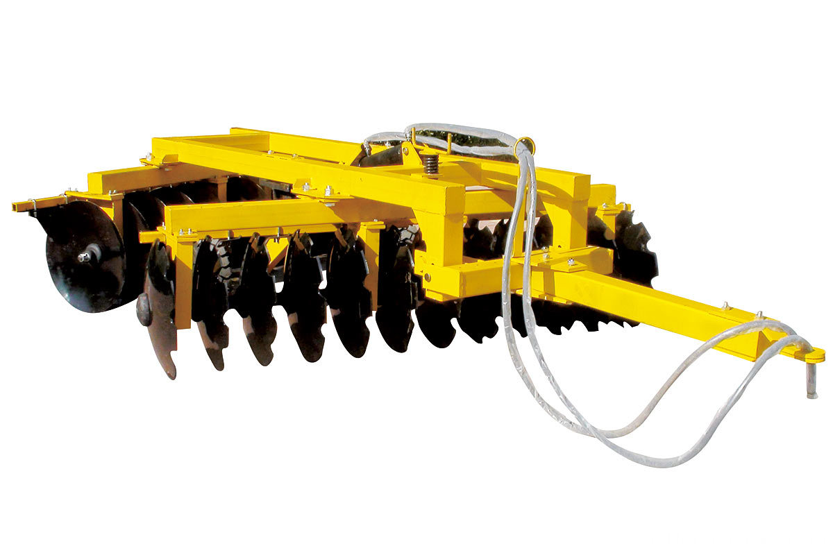 disc harrow-hydraulic skewing heavy harrow