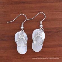 Designs Multi-Color Gemstone Drop Za Earrings for Women Silver Color Metal Statement Earrings Jewelry