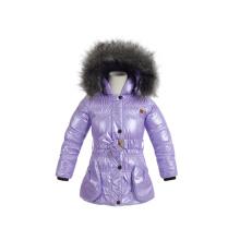 изготовленный на заказ набивка дети девушки зимняя куртка