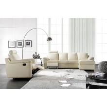 Sofa eléctrico del reclinación Los EEUU Sofá del mecanismo de L & P Sofá abajo (C812 #)