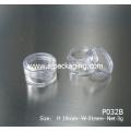 5g 3g frasco cosmético simple 0,1 oz mini frasco cosmético frascos cosméticos de la taza frascos cosméticos baratos