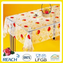 2016 heißer Verkauf PVC Transparente Tischdecke