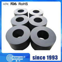 Filled /black teflon molded pipes