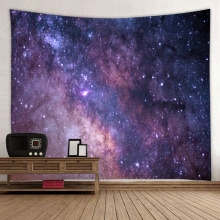 Starry Tapestry Galaxy Tapestry Night Sky Wall Hanging 3D Print Tapestry Psychedelic Wall Art for Living Room Bedroom Home Do