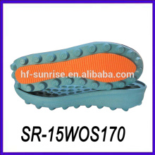 Doppelte Farbe PU Material italienische PU Sohle kaufen Schuhsohlen Sohlen für Schuhmacherei