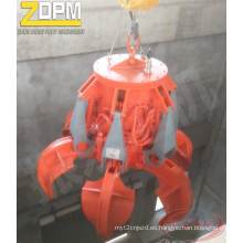 Gancho agarrador hidráulico eléctrico de naranja