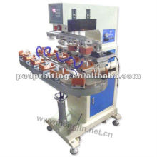 T Dongguan Hengjin precision 4 Color truntable glass cup pad printing machine