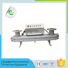 Esterilizador de radiación ultravioleta en ich purificación de agua esterilizador uv agua salada