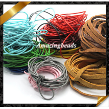 Leather String, Hot Jewelry Wire Real Leather Cord, Real Leather Jewelry (RF049)
