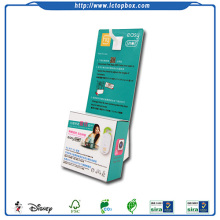 Cardboard Paper Display Box Stand