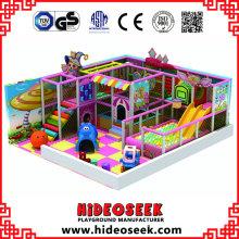 Samll Indoor Indoor Playground Equipment para Daycare Centre