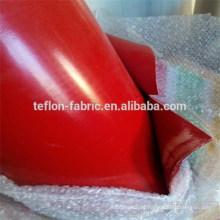 Uso industrial de caucho de silicio recubierto de tela de fibra de vidrio tela, resistente al calor de silicona hoja, proveedor