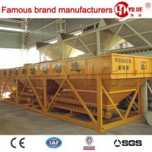 Máquina automática de procesamiento por lotes de hormigón PLD1600 Agregado de la papelera