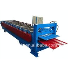 máquina de prensagem de telhado de camada dupla