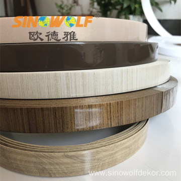 New Popular Woodgrain PVC Edge Banding