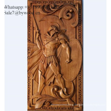 Tradition handmade wall hanging carved  wood wall paneling antique  engraved wood panel