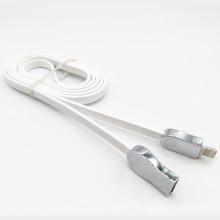 Cabo de dados de liga de zinco USB 2.4A para iPhone 5