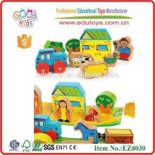 Wooden Toy Farm Set For Kid