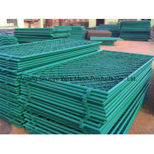 Plastic PVC Coated Chain Link Fence for School