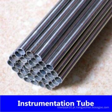 Tubo de instrumentação de aço inoxidável de Tp321