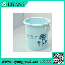 Pode mudar o projeto da flor da cor, filme da transferência térmica para o escaninho de lixo