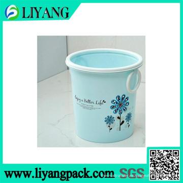 Puede cambiar el diseño de la flor del color, película de transferencia de calor para el cubo de basura