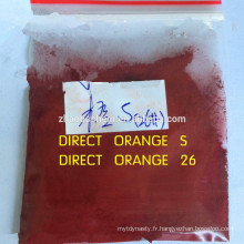 Direct Orange 26 pour le colorant textile / papier / cuir