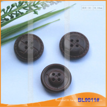 Imitation Leather Button BL9011