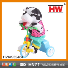 Funny 30CM Musical Battery Operated Riding Soft Electric Dog Toy