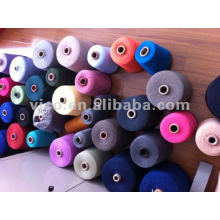 21S/1 POLYESTER DYED YARN
