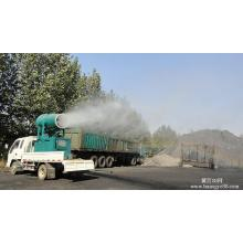 Remote dust removal sprayer
