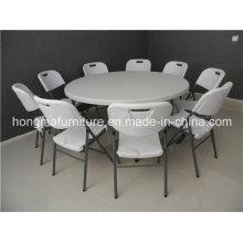 Mesa redonda dobrável de 5FT Hotsale para uso de eventos