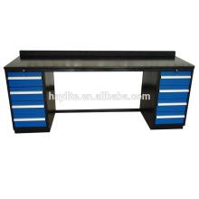 Workbench bon marché lourd avec des tiroirs à vendre