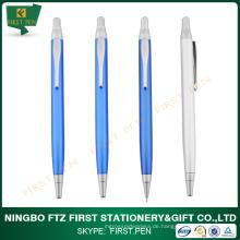 FIRST A003 Einziehbare Werbe-Metall-Kugelschreiber